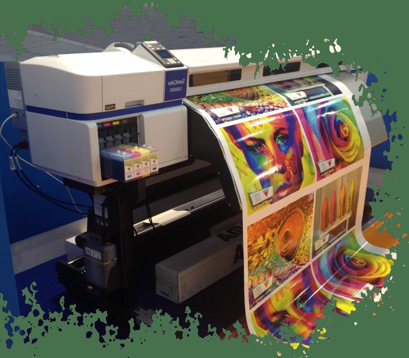 Wir drucken Ihre Werbung auf Folie - Digitaldruck in Elmshorn